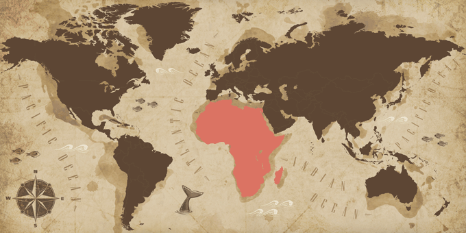 Africa - Map