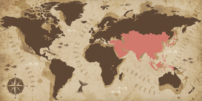 Asia - Map
