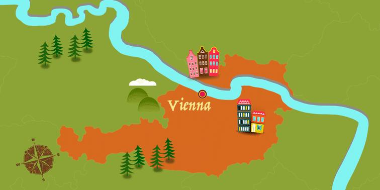 Austria - Map