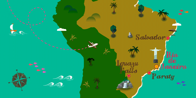 Brazil - Map