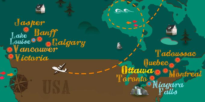 Canada - Map
