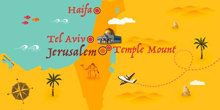 Israel - Map
