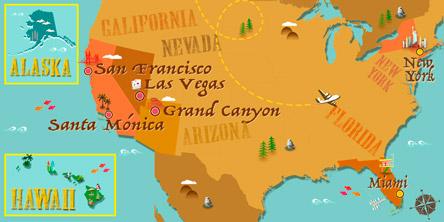 United States - Map