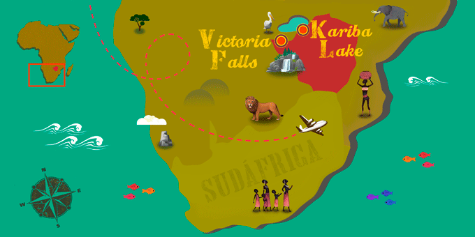 Zimbabwe - Map