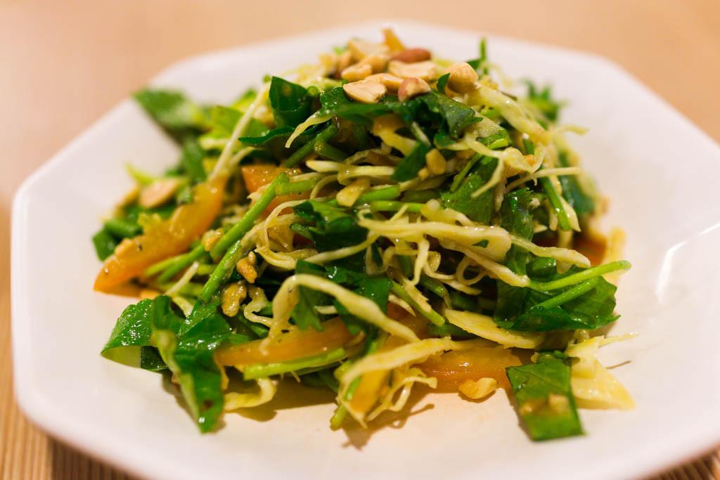 Pennywort Salad