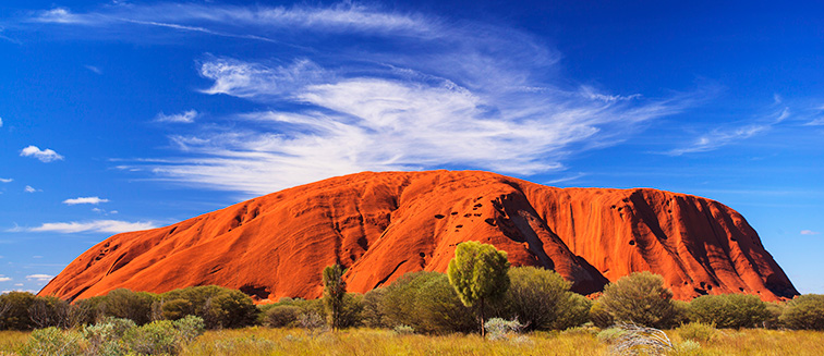 Best time to visit central Australia