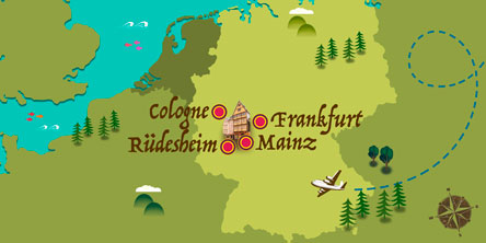 Rudesheim Germany Map.Tour Packages To Rudesheim Vacation Packages Exoticca