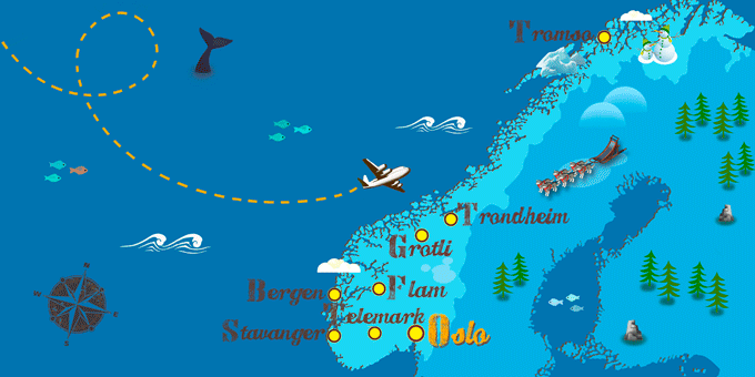 Norway - Map