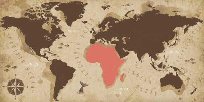África - Mapa