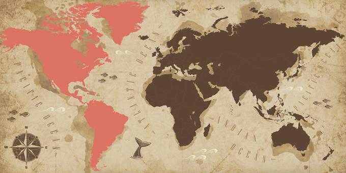 América - Mapa
