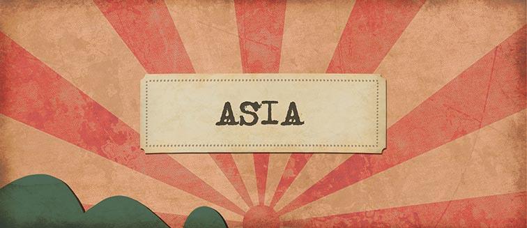 circuitos por Asia