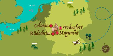 Alemania - Mapa