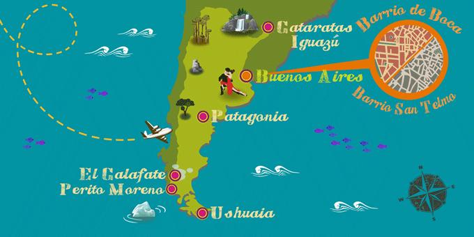 Argentina - Mapa