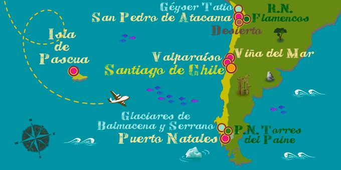 Chile - Mapa
