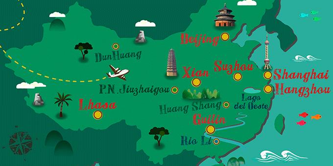 China - Mapa