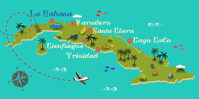 Resultado de imagen de mapa cuba