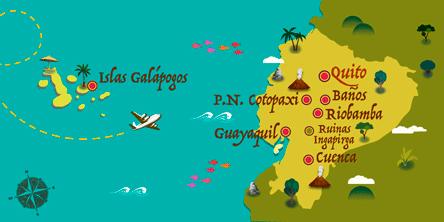 Ecuador - Mapa