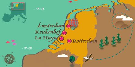Holanda - Mapa