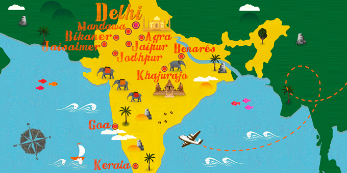India - Map