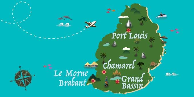 Mauricio - Mapa
