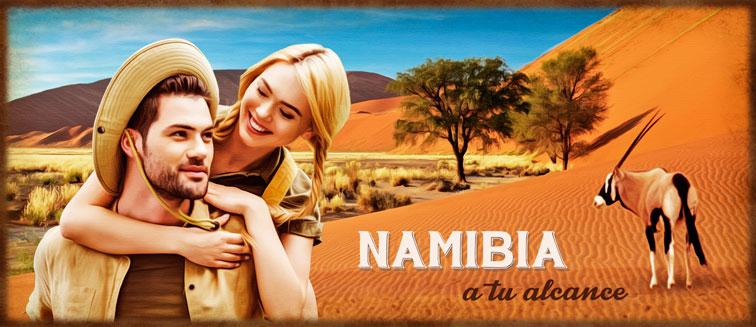 Viajes a Namibia organizados