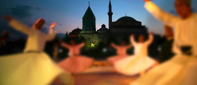 Ceremonia de Conmemoración de Mevlana en Konya