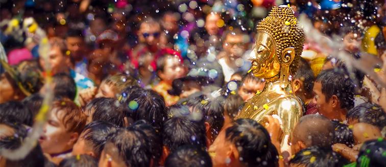 El Songkran Festival