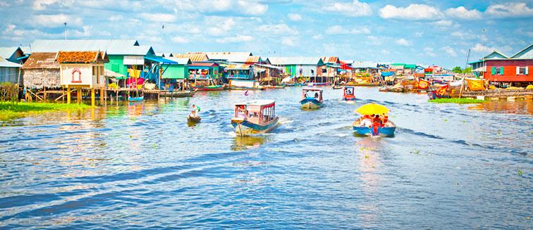 Festival del agua en Phnom Penh