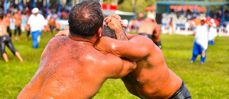 Fiesta de la Lucha tradicional de Edirne