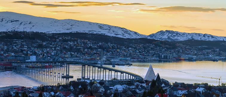 Maratón del Sol de Medianoche en Tromsø