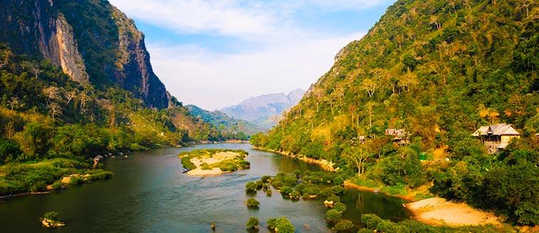 cuándo viajar al Río Mekong