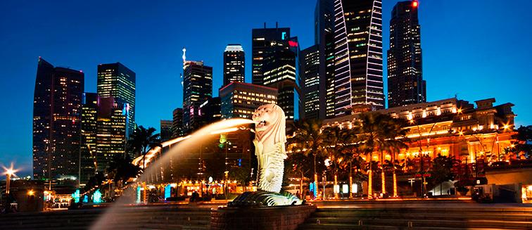 cuándo viajar a Singapur