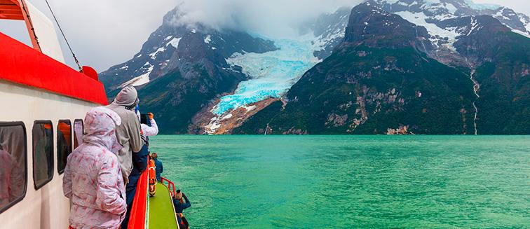 Glaciares de Balmaceda y Serrano