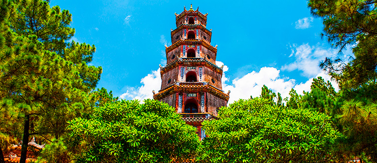 cuándo viajar a Hué