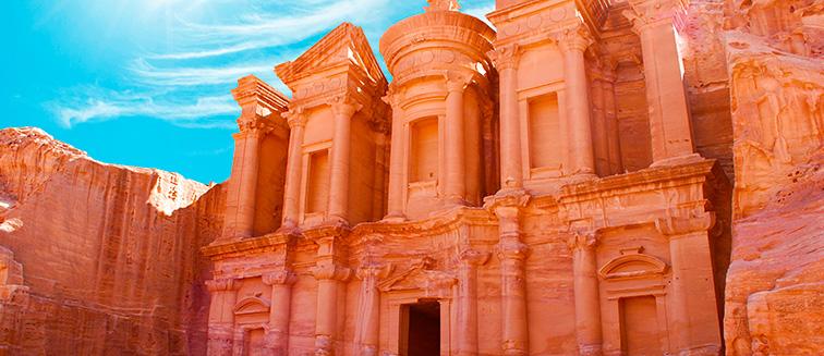 cuándo viajar a Petra