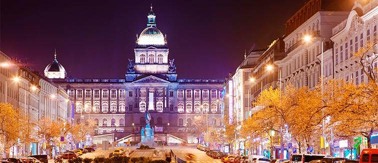 <em>Praga</em> - Plaza Wenceslao