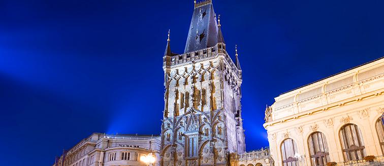 <em>Praga</em> - Torre de la Pólvora
