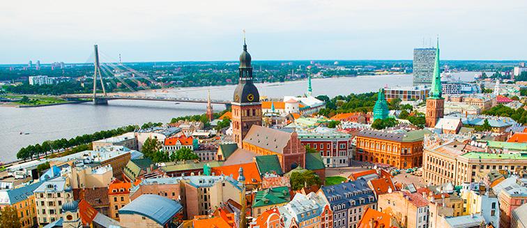 cuándo viajar a Riga