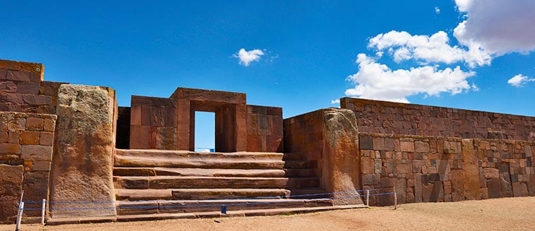 Ruinas de Tiahuanaco