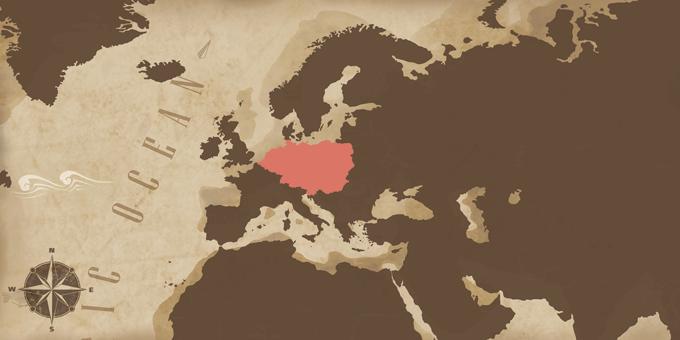 Europa Central - Mapa