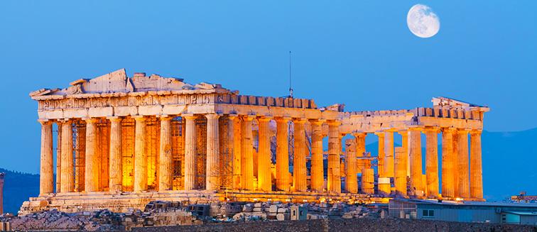 partir a grece en hiver