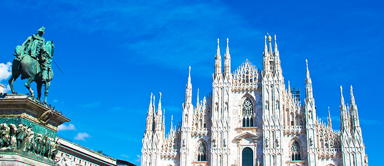 Cathédrale de Milan, Italie