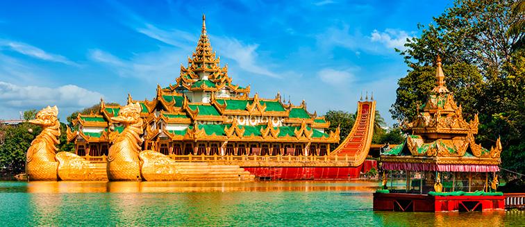 Saison touristique au Myanmar